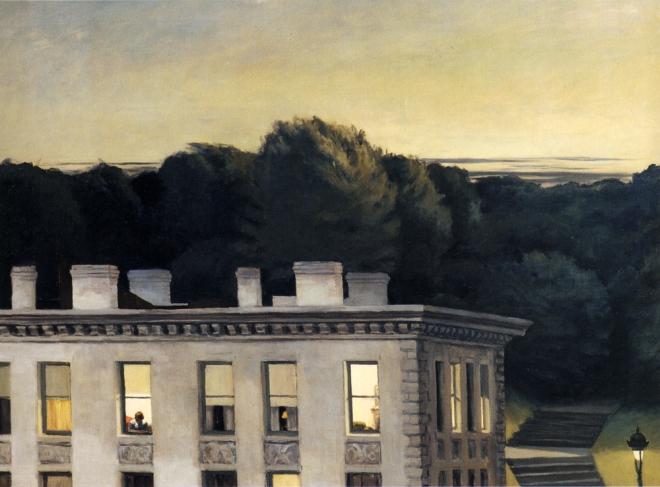 Edward Hopper - House at Dusk (1935)