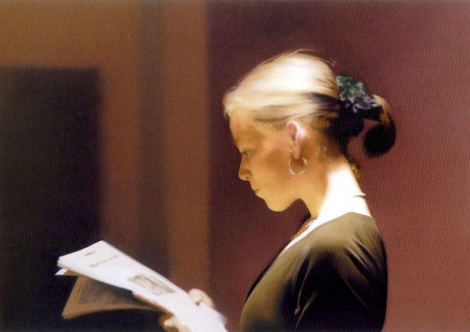 'The Reader' - G. Richter