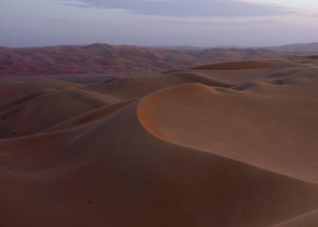 Sunset in Rub' al Khali (2013)