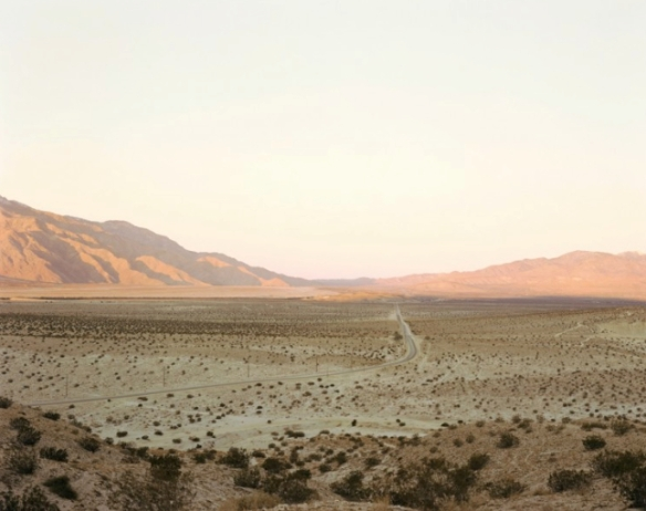 San Gorgonio Pass - Richard Misrach: Desert Cantos