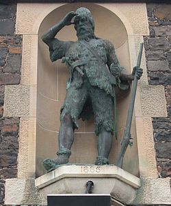 Statue of Alexander Selkirk in Lower Largo.