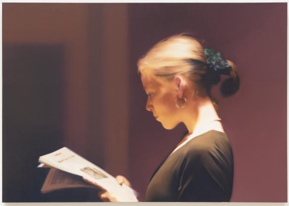 Gerhard Richter - 'The Reader.'