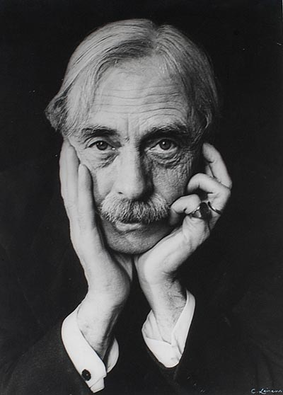 Paul Valéry in 1935 by Charles Leirens