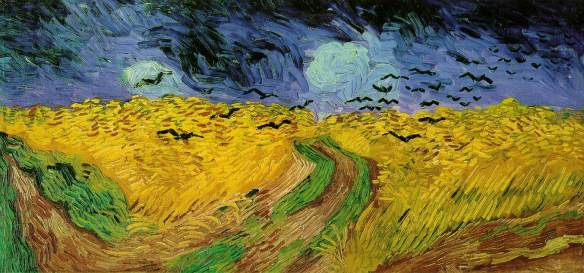 Wheat Field With Crows (1890) -Vincent van Gogh