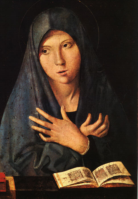 The Virgin of the Annunciation by Antonello da Messina.