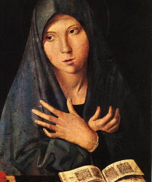 The Virgin of the Annunciation by Antonello da Messina.