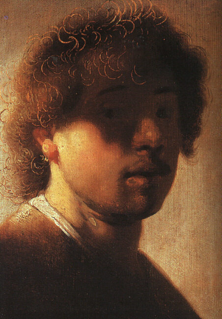 Self-portrait at an early age (between 1628 and 1700) - After Rembrandt (1606–1669)