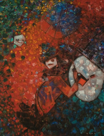 Projet Pour un Monument a W.C. Fields (1957) - Max Ernst