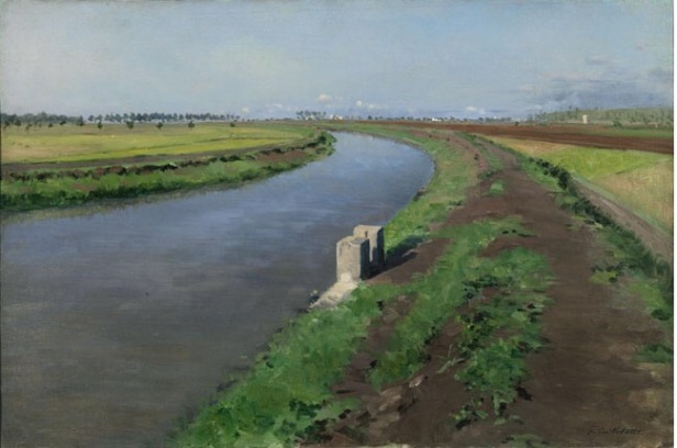 Image result for banks of a canal gustave
