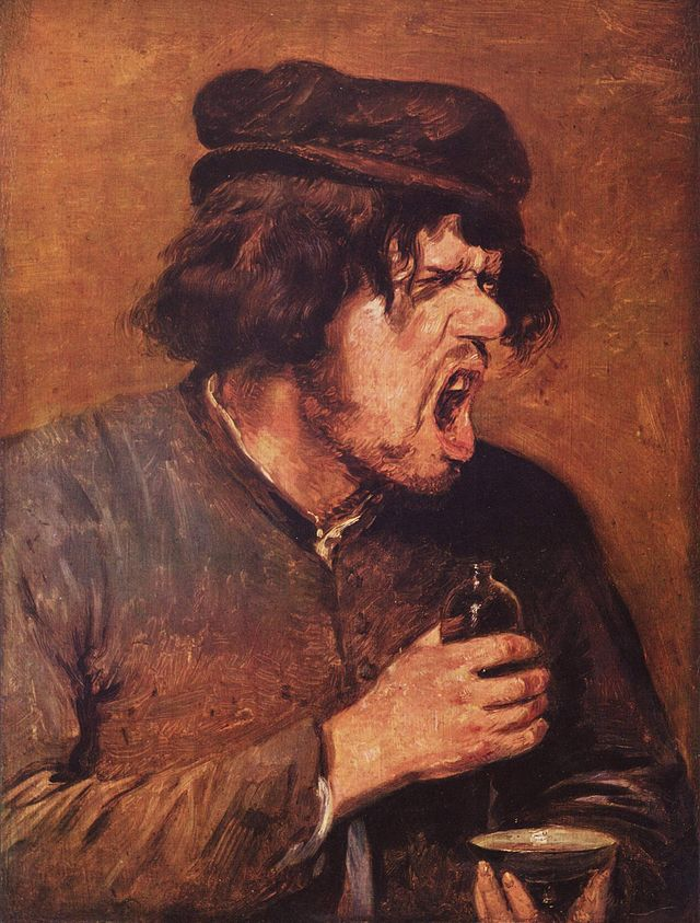 The Bitter Potion (1640) - Adriaen Brouwer