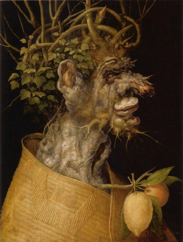 Giuseppe Arcimboldo (1563) - The Winter