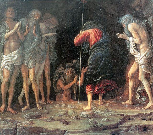 Christ's Descent into Limbo (c. 1470) - Andrea Mantegna