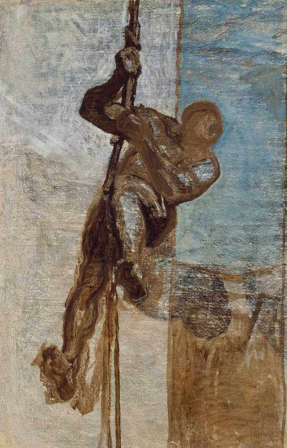 Man on a Rope (c. 1858), Honoré Daumier