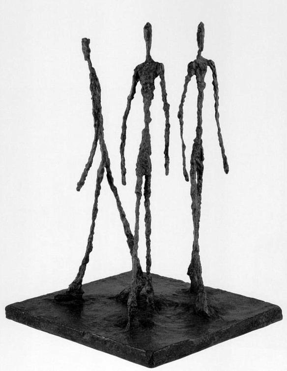 Three Men Walking (1948) - Giacometti